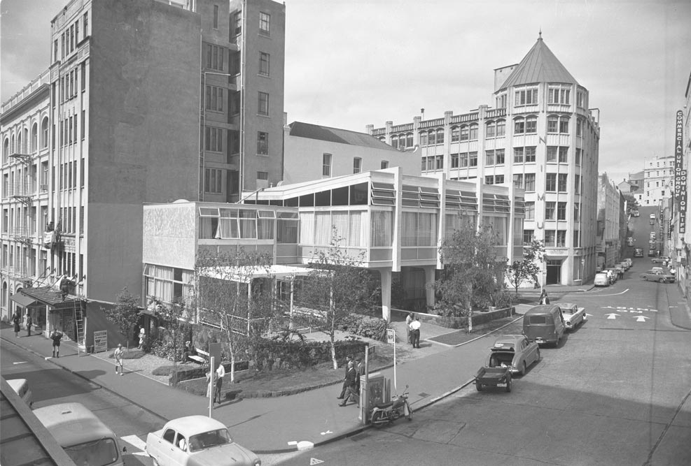 The Pioneer Women's and Ellen Melville hall in Dec 1963.