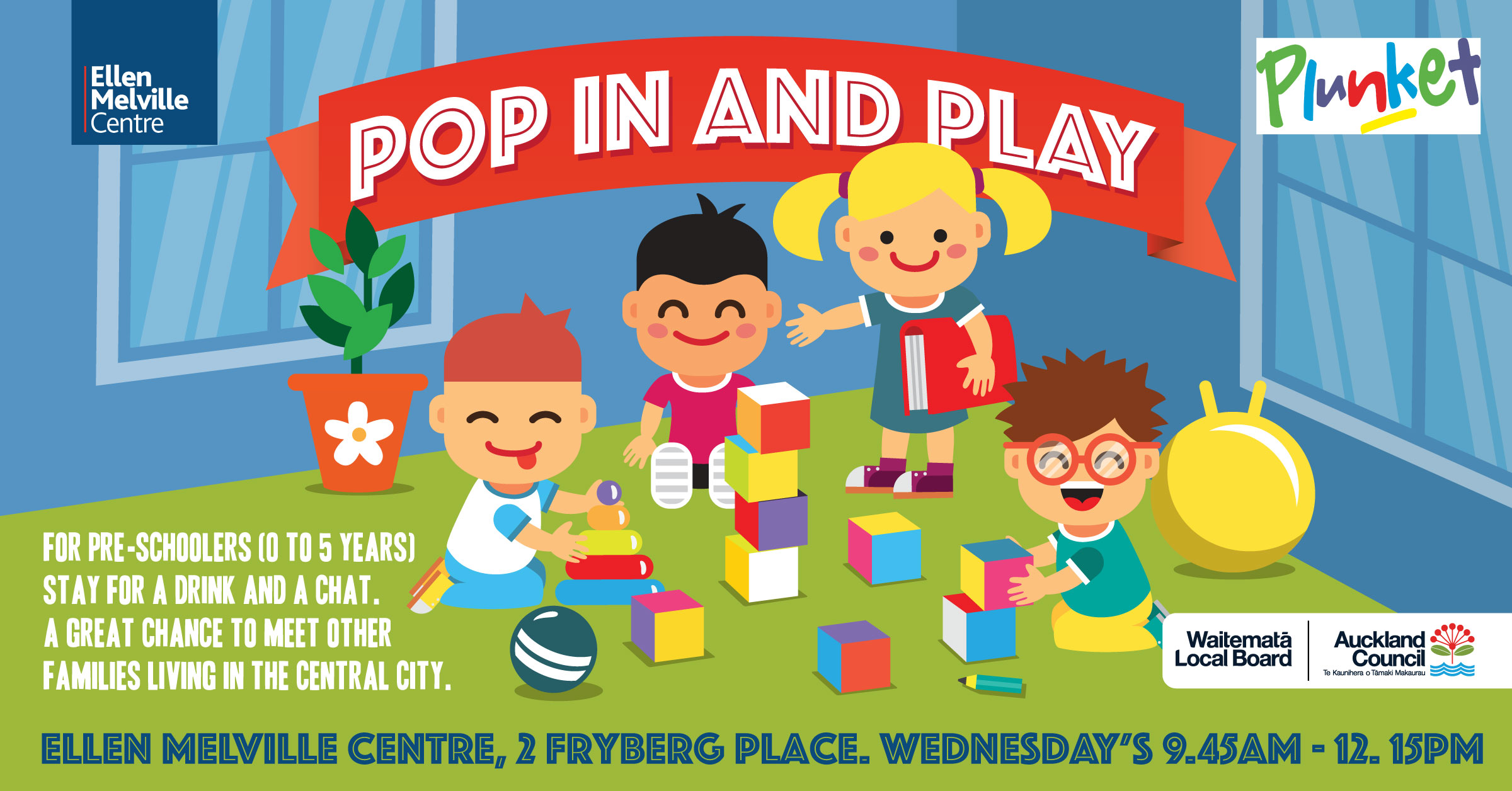 Plunket Pop In And Play